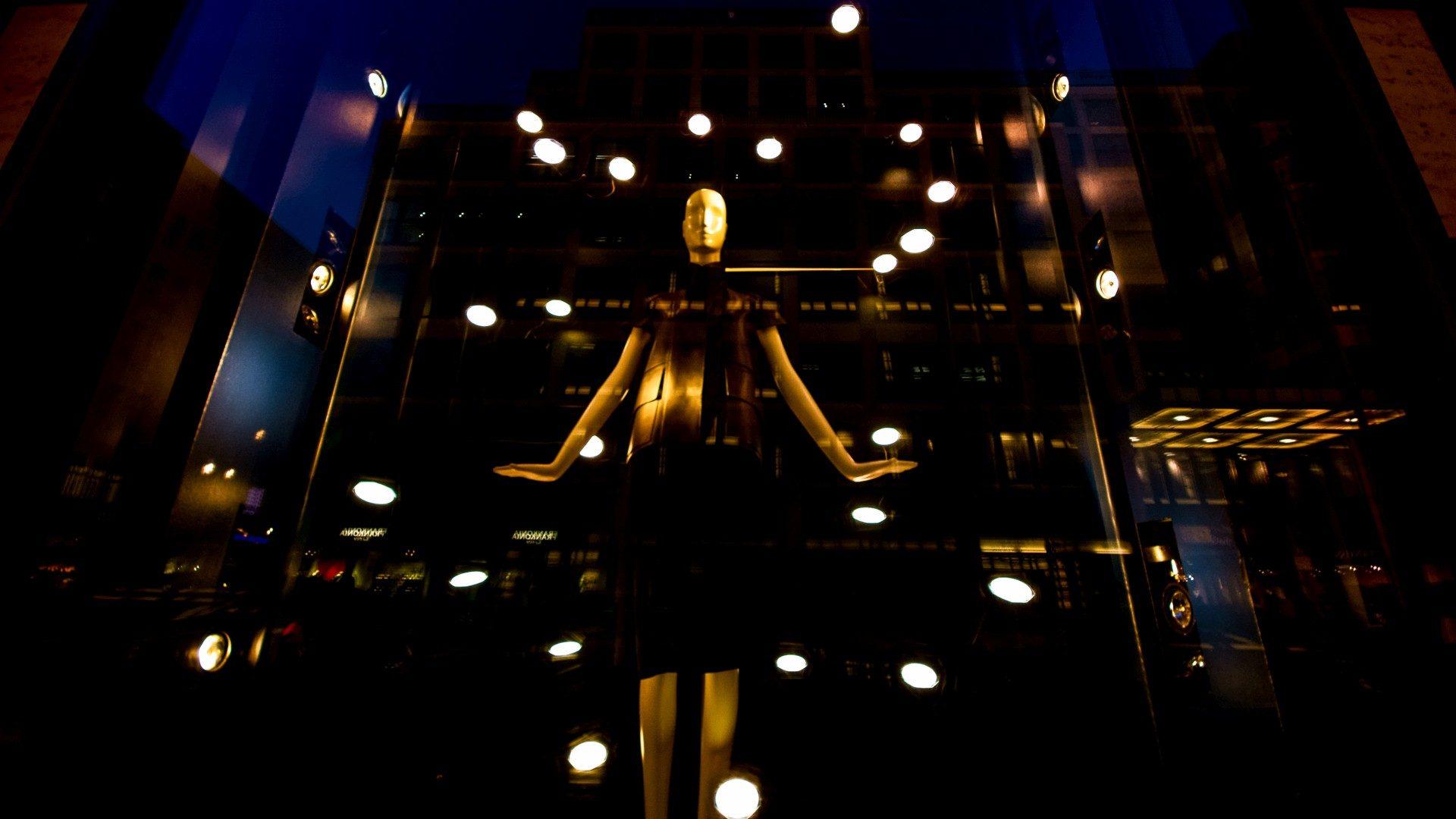 Schaufenster-Beleuchtung