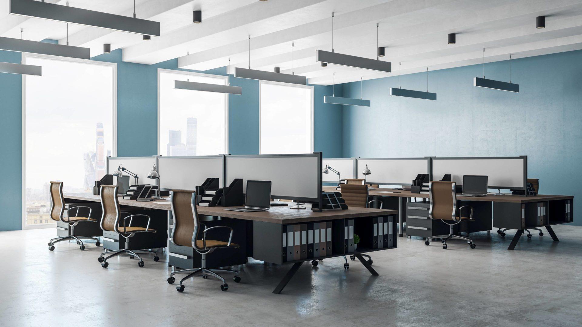 Lichtplanung Bürogebäude von LUMEsLICHT