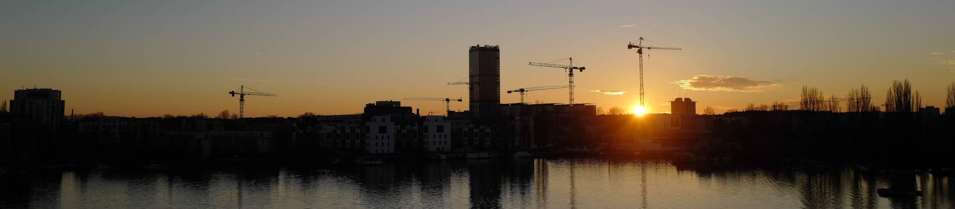 Abendlicht in der Stadt