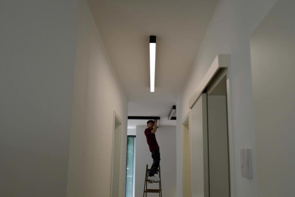 Beleuchtung Planung Privatwohnung Berlin