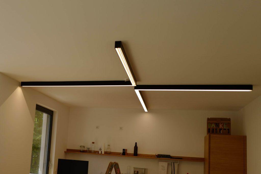 Lichtinstallation Privatwohnung